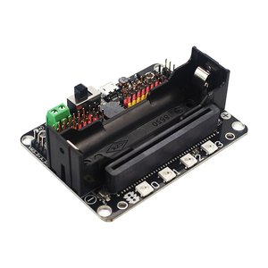Image 3 - KittenBot Robot:bit V2.2 Expansion Board for BBC Micro:bit Extension Board support 18650 Battery for Micro:Bit DIY Robot