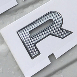 Image 4 - For LAND RANGE ROVER SPORT VELAR SV Edition Glossy Black Matte Silver Top ABS Emblem Car Styling Hood Trunk Letters Logo Sticker