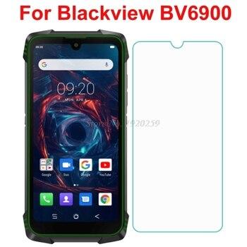 Перейти на Алиэкспресс и купить Blackview BV6900 Защитное стекло для экрана 9H 2.5D 0,3 мм Закаленное стекло пленка для blackview BV5900 Защитное стекло для телефона