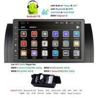 9 inch Android 10 Car DVD Stereo Multimedia for BMW E39 E53 M5 X5 with Radio WiFi BT GPS Navigation Stereo
