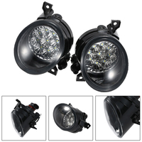 2pcs Car Led Fog Lights Bright White Lamp Left Right For Mk5 2005 2009 Golf Mk5 2003 2009 Car Fog Lamp