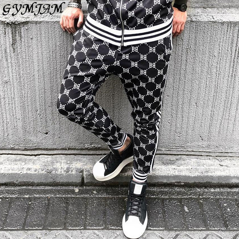 New Casual Feet Pants Fashion Brand Men's Clothing 2019 Hip Hop Men's Pants Jogger Streetwear Trousers Brand Trousers