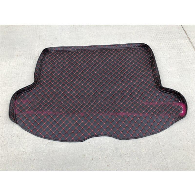 Lsrtw2017 Leather Car Trunk Mat Cargo Liner For Infiniti Qx70 2013 2014 2015 2016 2017 Rug Carpet Interior Accessories boot