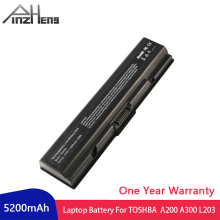 PINZHENG Laptop Battery For Toshiba A200 A300 L203 M200 PA3534U-1BRS Dynabook AX/52E AX/52F Satellite Series