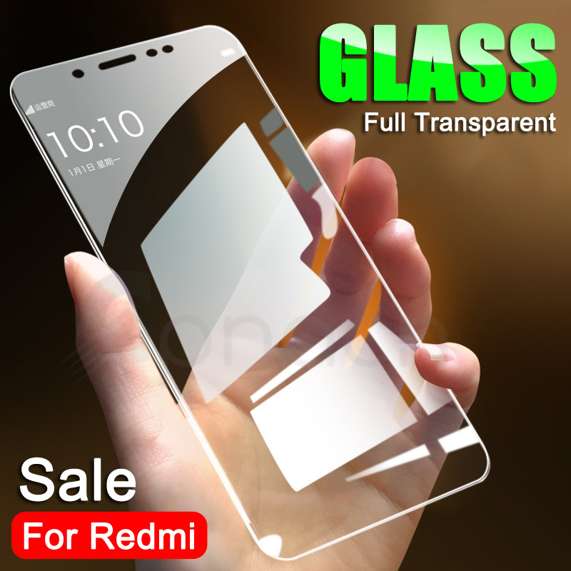 9H Tempered Glass On The For Xiaomi Redmi 5 Plus 5A S2 4 4X 4A K20 Pro Redmi Note 4 4X 5 5A Pro Screen Protector Protective Film