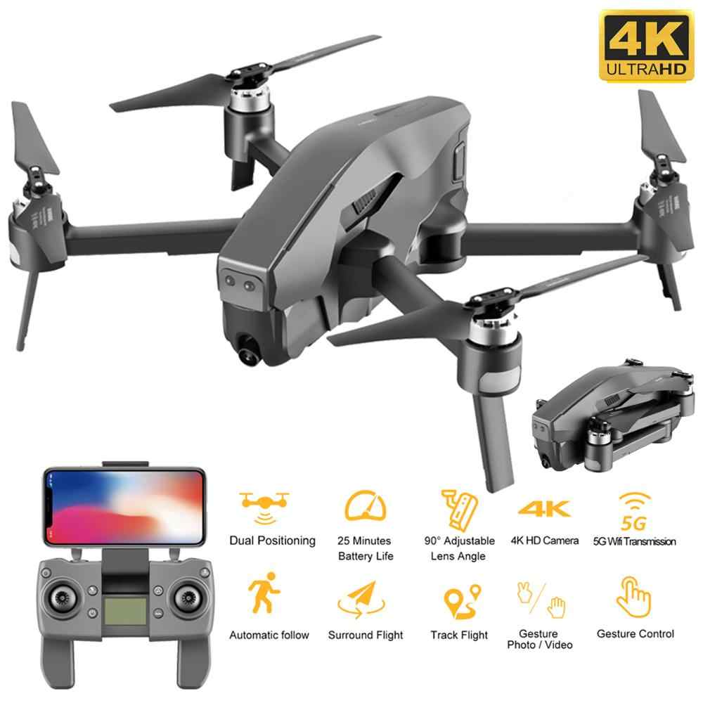 ใหม่ล่าสุด Mark300 GPS Drone กล้อง 4K 5G WiFi Optical Flow ตำแหน่ง 25 MIN Flight Brushless RC Quadcopter VS SG906 & SG907