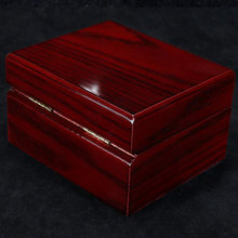 Однослойная коробка для часов из массива дерева органайзер со