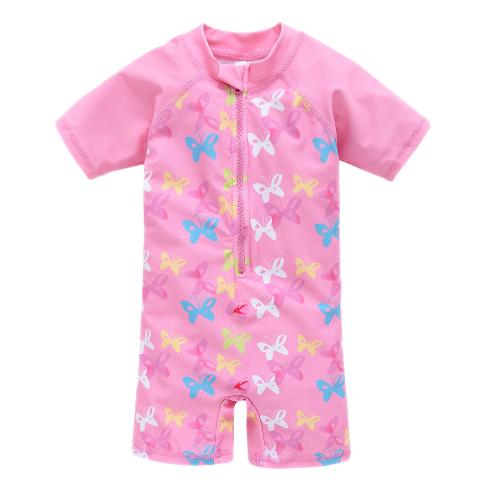 Bathing Suit Europe And America 2019 New Style Sun-resistant Big Boy Cute Cartoon One-piece Swimming Suit Quick-Dry CHILDREN'S S