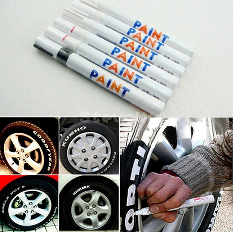 Hot Fashion Gadget Car Motorcycle Motor Cycle Tyre Tire Tread Marker Paint Pen   X66
