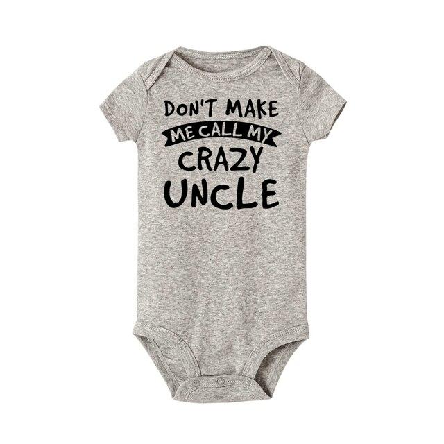 Crazy Uncle Onesie 6