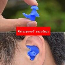 Bouchons d'oreille souples en Silicone, bouchons d'oreille étanches à la poussière, bouchons de Sport environnemental, accessoires de piscine pour Sports aquatiques de plongée