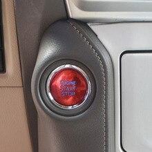 トヨタランドクルーザー LC200 プラドエンジン LC150 合金の車のスタイリングプッシュスタートストップエンジン点火プッシュボタンデバイスカバー