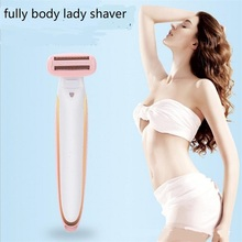 Electric Bikini Hair Clipper Trimmer Fully Body Haircut Removal Lady Shaver Epilator Women Underarm Leg Hair Remover USB Charger adoolla 5in1 electric epilator women facial leg eyebrow rechargeable remover hair bikini trimmer set lady shaver