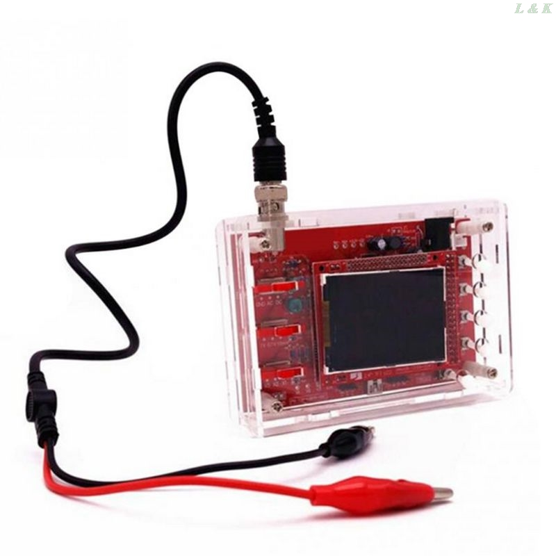 2.4 TFT Pocket-size Oscilloscope with Probe and Protective Case for DSO138 U50A image