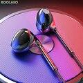 Наушники-вкладыши с Hi-Fi звуком, спортивные наушники с микрофоном для xiaomi, iPhone, Samsung, проводная гарнитура с басами, наушники для MP3