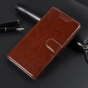 Luxury Wallet Flip PU Leather Case For Alcatel 3X 5048 5058 3V 2019 5099D Phone Bag For Alcatel 3 2019 5053 5052 3L 5039 5034 image