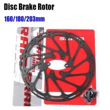 Eixo da bicicleta freio a disco rotor g3 160/180/203mm hs1 6 parafusos rotor mtb bicicleta almofada de freio acessórios