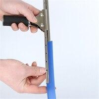 לבן שחור כחול 3 צבעים גומי מגב זכוכית להחליף כלים זכוכית מגרד מים גומי 106 Cm ארוך מגב ביתי כלים|מגבים|   -