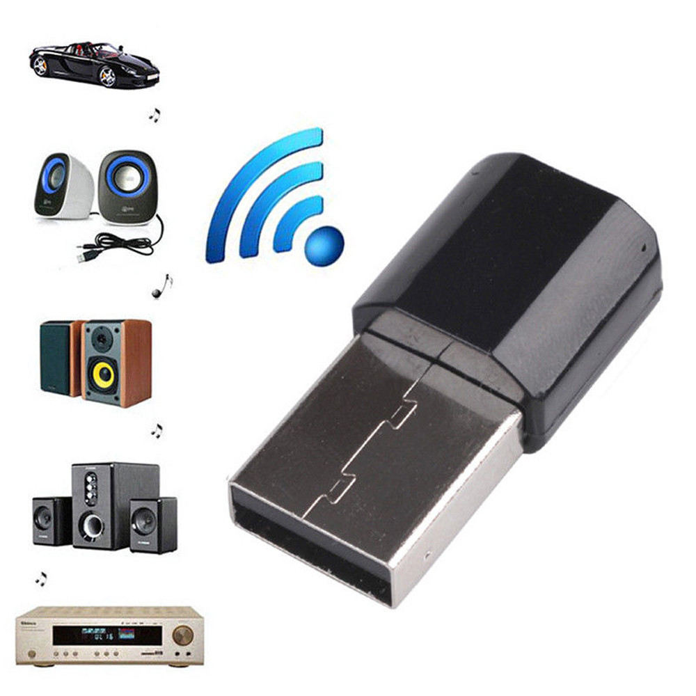 USB Bluetooth 3.0 Audio Receiver AUX Audio Stereo Music Home Car Receiver Adapter For Car Spaekers  1127#2