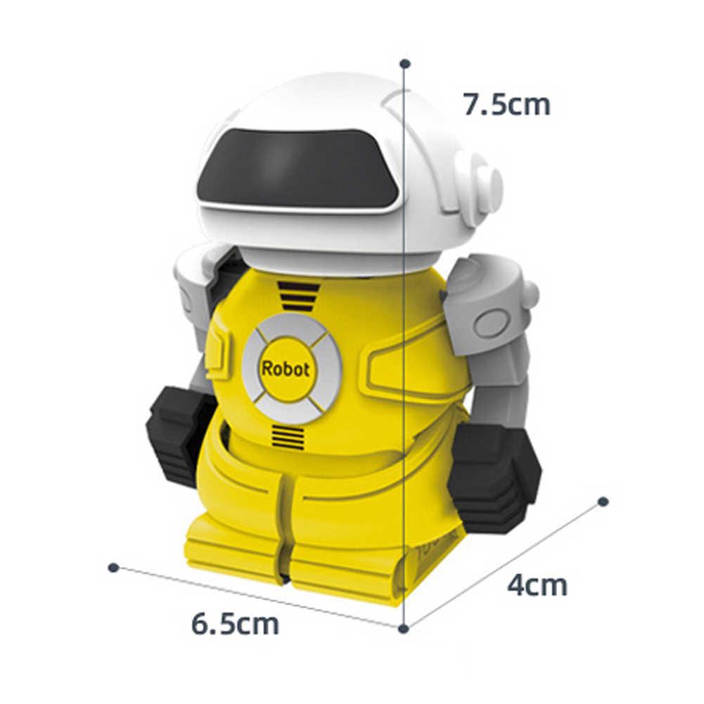 미니 rc 로봇 eletric 적외선 제어 교육 완구 어린이 원격 제어 통조림 작은 로봇 생일 선물 장난감 어린이위한