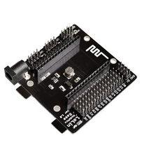Nodemcu base esp8266, ferramenta de teste, placa de ensaio diy, adequado para nodemcu v3, 1 peça