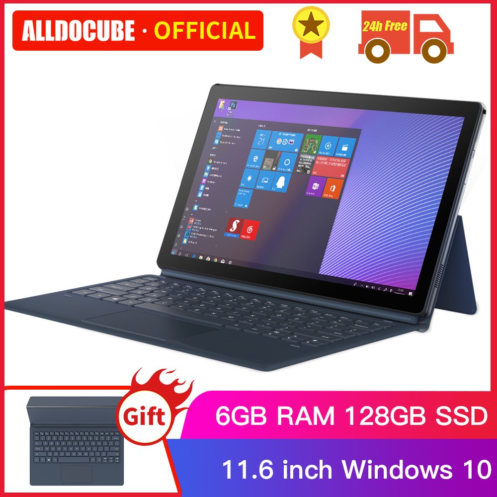 Alldocube KNote 5 Pro 11.6 Inch Intel Tablet Windows10 Gemini Lake N4000 6GB+128GB 1920*1080 IPS Display Tablet PC With Keyboard