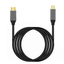USBC to Mini displayport Cable 6Ft USB Type C Thunderbolt 3 to mini DP Cord 4k practical portable cables