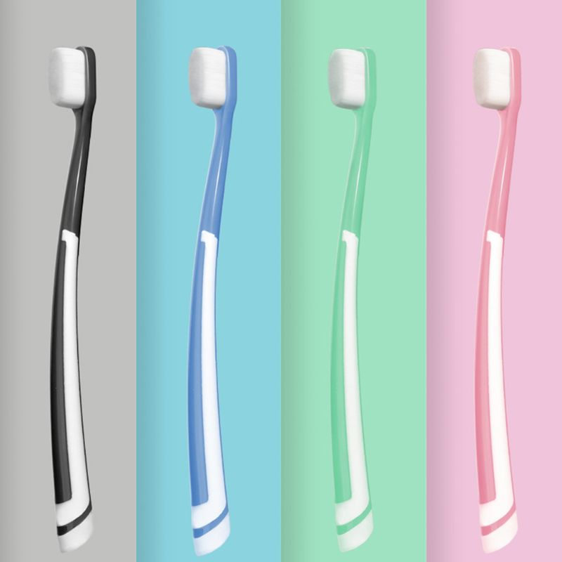 10000 Extra Soft Bristles Toothbrush Ergonomic Handle Dental Oral Care Teeth Cleaning for Sensitive Pregnant Postpartum 1PC image