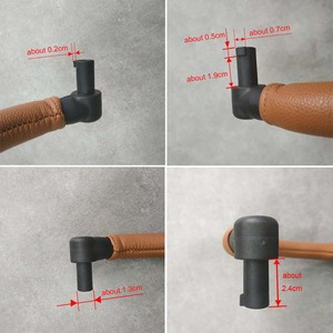 Image 4 - Stroller Armrest  Baby Accessories Trolley Bumper Bar Leather Handrail For Yoya plus 2/3/4/2020 ,Yoya Plus Max /Pro,Dearest
