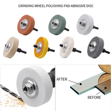 3 дюйма шлифовальный круг полировка колодка абразив диск для металла шлифовальный станок вращающийся инструмент