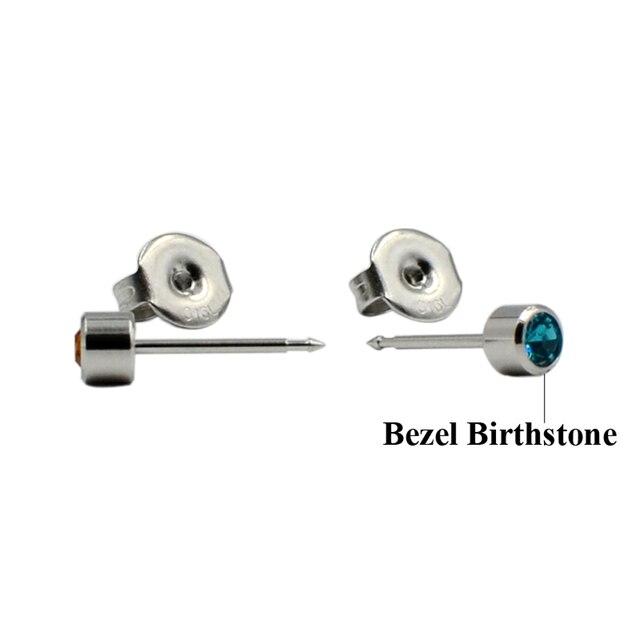 1 pièce jetable stérile oreille Piercing unité 361L acier chirurgical Cartilage Tragus hélice boucle doreille goujon pour plus sûr Piercing pistolet outil