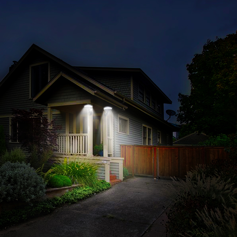 jardim luz poupanca energia lampada de parede rua 04