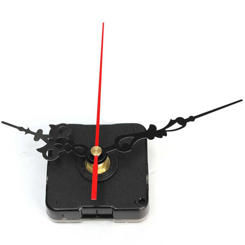 1 conjunto silencioso grande relógio de parede quartzo mecanismo movimento mãos ferramenta reparo parede peças kit conjunto diy