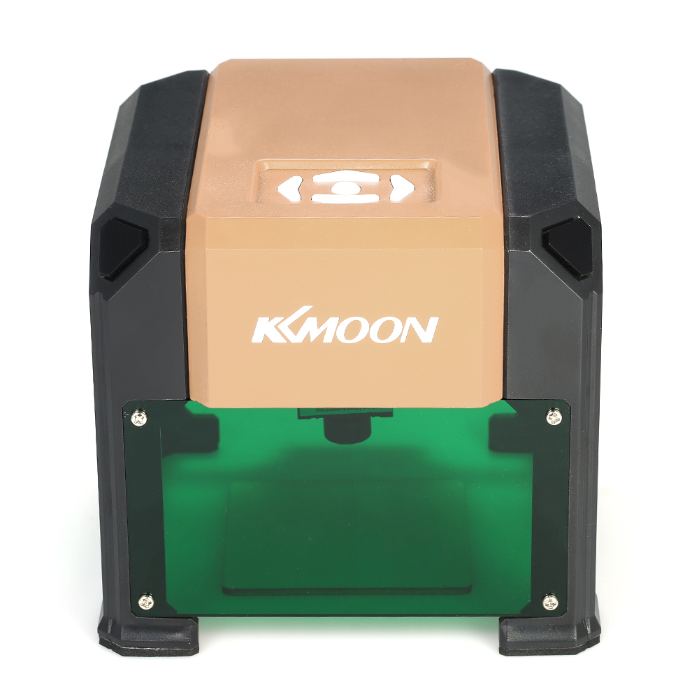 KKmoon K4 3000mW Automatic Laser Engraving Machine USB DIY Laser Carving Engraver Wood Router With 80 * 80mm Engraving Area