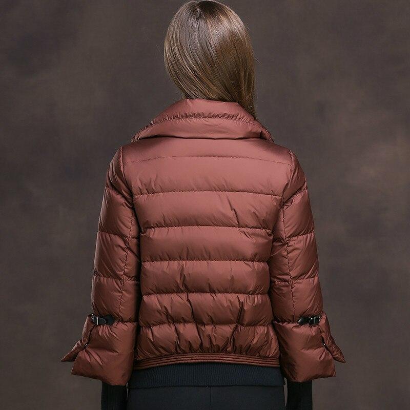 Duck Down Jacket Woman Short Slim Winter Coat Women Korean Thick Warm Jacket Parka Chamarras De Mujer XMXD8602 YY1186