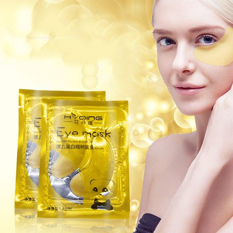Collagen Mask Natural Moisturizing Gel Eye Patches Anti Wrinkle Gel Sleep Gold Mask Patches Moisturizing Eye Mask Eye Care TSLM1
