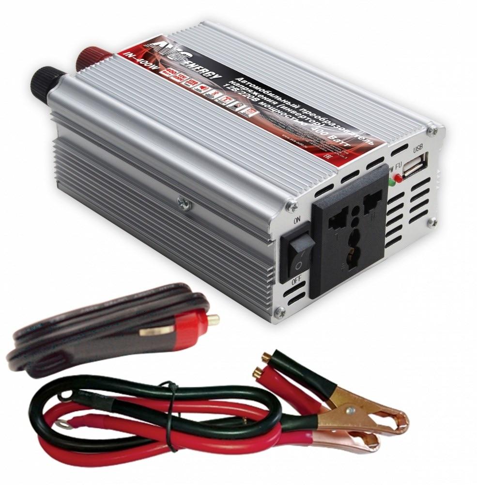 Car inverter 12 V/220 V AVS IN-400W