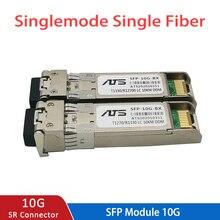 10G SFP + โมดูล BIDI 10GBASE Fiber Optic SFP Transceiver โมดูล Cisco/Mikrotik/Huawei Switch รองรับ