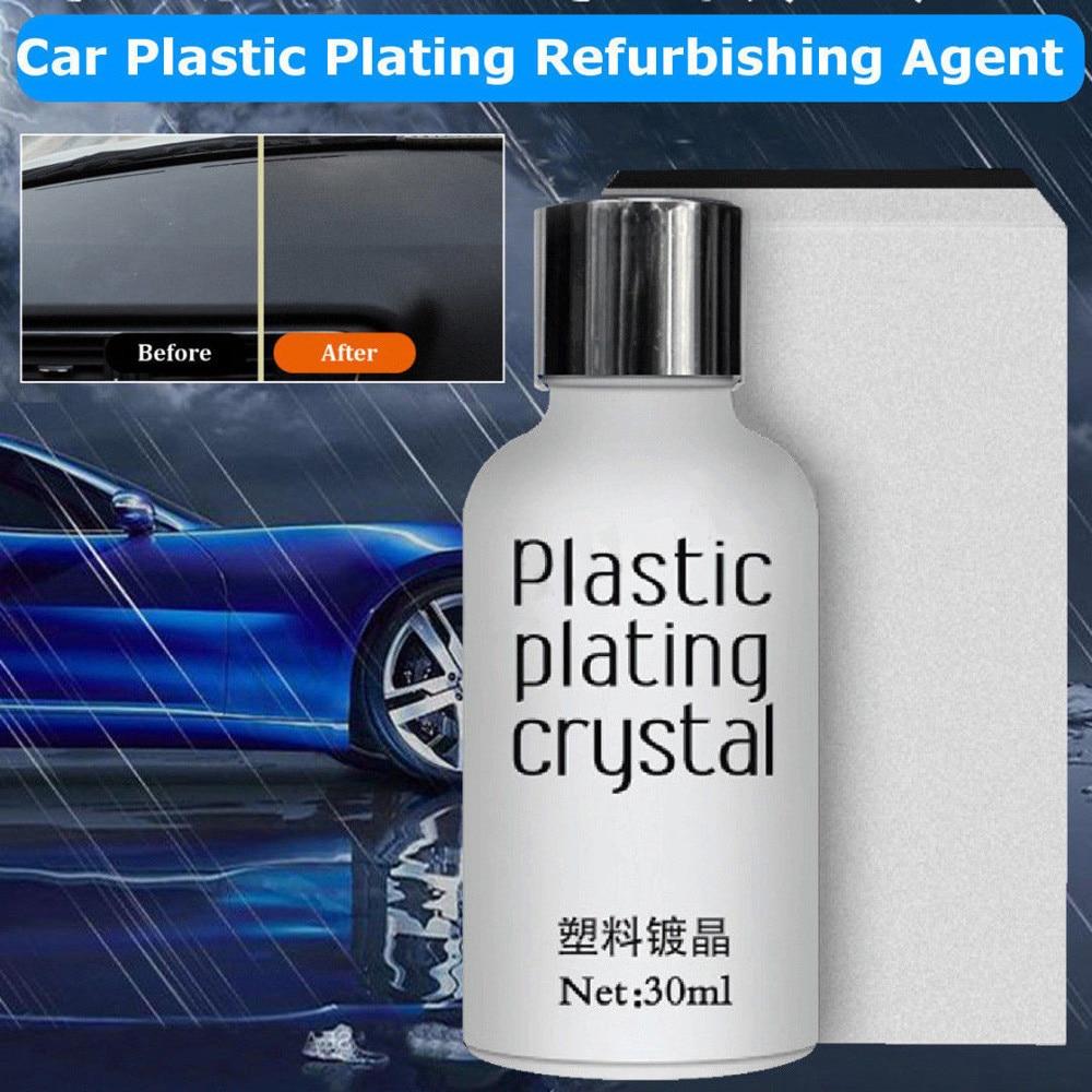 Car Beauty Multi-function Plating Refurbishing Agent Crystal Polishing Coating Plastic Plating Refurbishing Agent Sponge