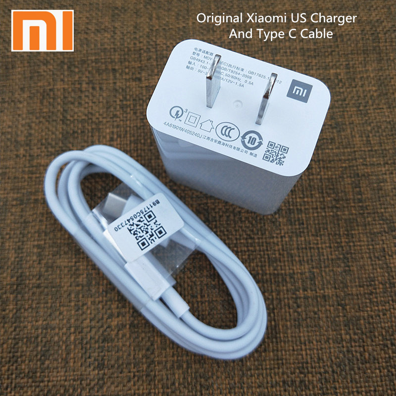 Original Xiaomi Mi A3 9se USB Charger quick Wall adapter Fast Charge line Type C Cable For Redmi Note 7 K20 pro Mi 9T CC9 A2 A1-in Mobile Phone Chargers from Cellphones & Telecommunications