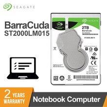 Seagate – disque dur interne HDD, sata 3, 2.5 pouces, 2 to, 7mm, 5400RPM, 6 Gb/s, Cache de 128 mo, pour ordinateur portable, st20000lm015