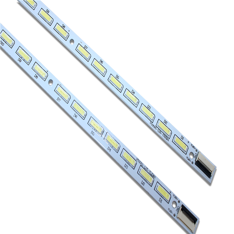 New 2 PCS LED Strip For LE50D8800 V500HJ1-LE1 V500H1-LS5-TLEM6 V500H1-LS5-TREM6 V500H1-LS5-TLEM4 V500H1-LS5-TREM4 E117098