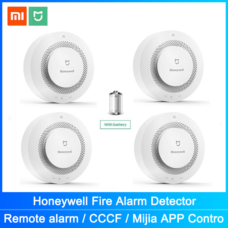 Mijia Honeywell fuego humo alarma Detector de Gas Sensor trabajo con multifunción Gateway 2 de seguridad para el hogar inteligente de Control de la aplicación Digitalizador de pantalla táctil de repuesto para Honeywell Dolphin 60S