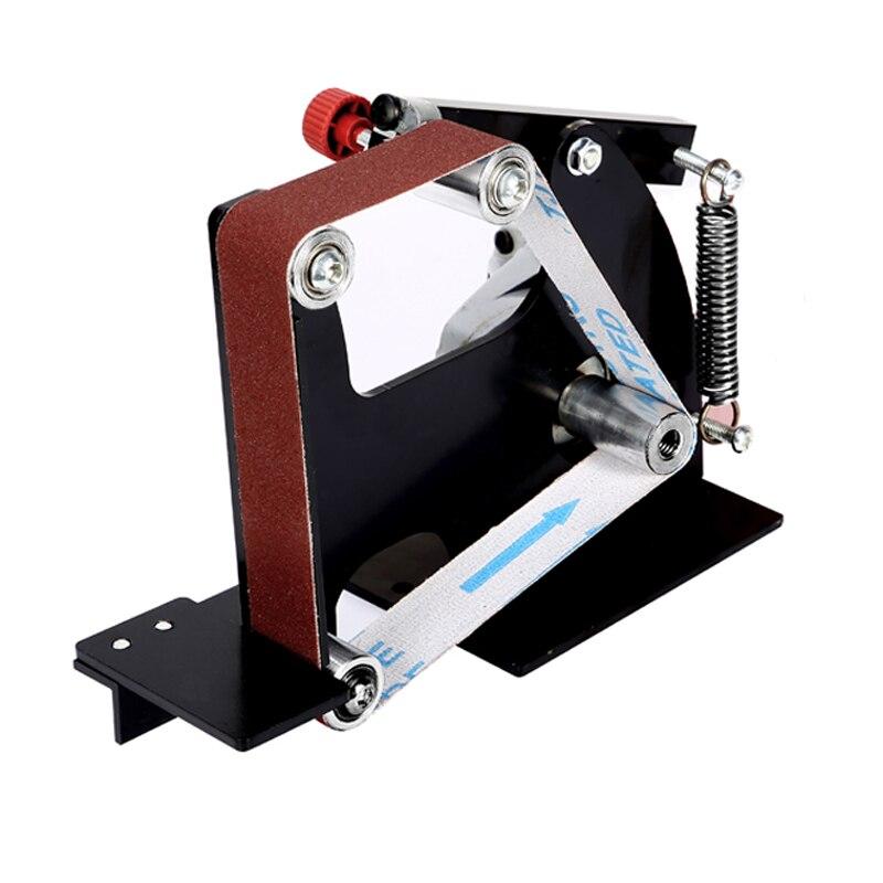 Ponceuse /à Bande de meuleuse dangle M10 Mini Adaptateur de t/ête de pon/çage de Ponceuse /à Bande pour meuleuse dangle /électrique