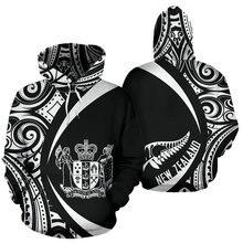 Новая мода Зеландия маори племя aotearoa флаг страны ретро Татуировка