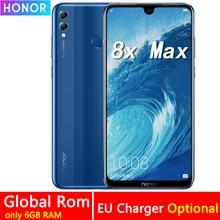 Honor 8X Max 7,12 дюймов мобильный телефон 4 Гб ОЗУ 64 Гб ПЗУ 16 МП Восьмиядерный экран отпечаток пальца ID 4900 мАч аккумулятор смартфон