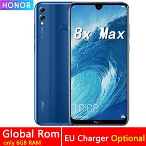 Image 1 - Honor 8X Max 7.12 Inch Mobiel 4 Gb Ram 64 Gb Rom 16MP Octa Core Screen Vingerafdruk Id 4900 Mah batterij Smartphone