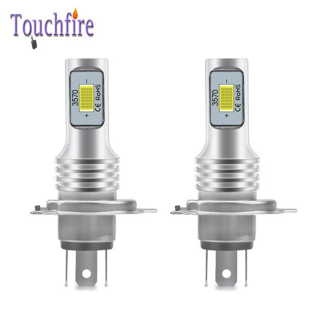 2Pcs H4 H7 H8 H11 9005 HB3 9006 HB4 H1 H3 3570 שבב Canbus חיצוני Led הנורה רכב אוטומטי להחליף אור לבן 6000K