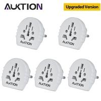 AUKTION-Convertidor de enchufe eléctrico Universal Adaptador de enchufe de la UE 16A, cargador de viaje de CA 2021 V, adaptador de toma de corriente de pared para EE. UU., RU, AU, novedad de 250