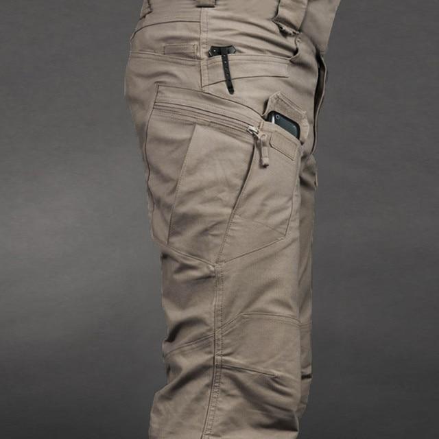 KANCOOLD Pencil Pants Loose Drawstring men pant Scratch-proof Waterproof Pants For Outdoor Camping Climbing Nov6